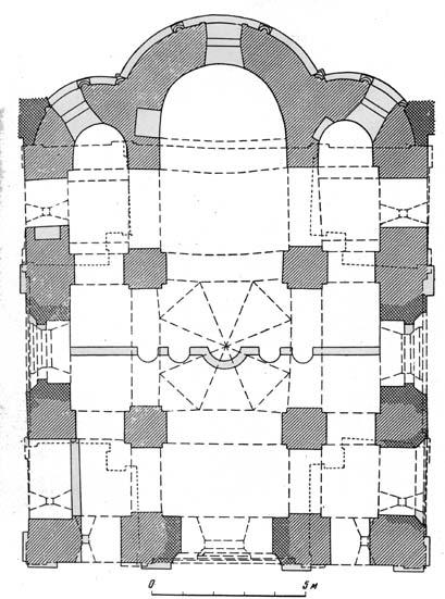 План собора. Обмеры арх.