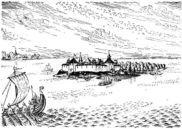 Новгородская крепость Орешек