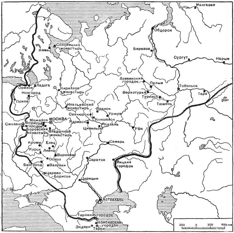 Карта русского