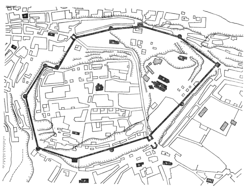 План кремля по съемке 1769 г.